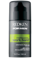 Redken Men Work Hard Molding Paste 3.4oz