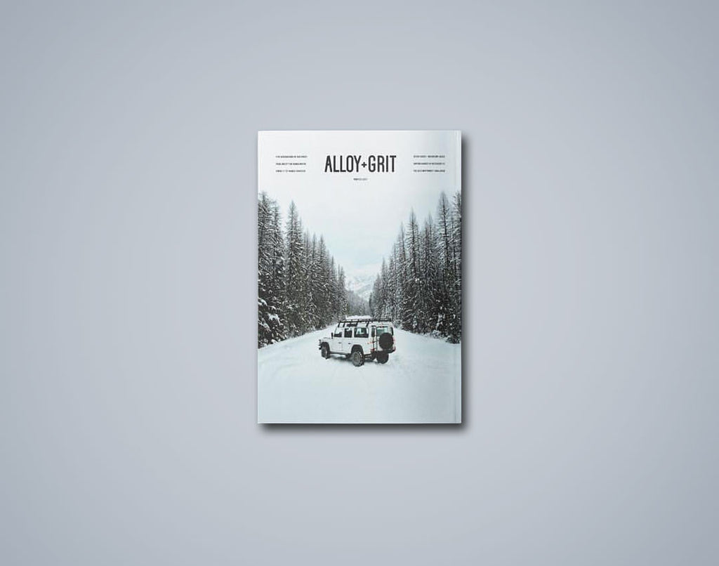 Alloy+Grit Series 1 Issue 1 - Winter 2016-17