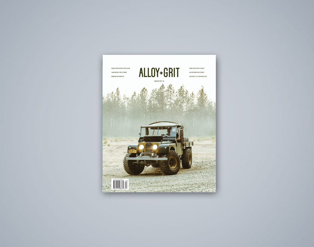 Alloy+Grit Series 2 Issue 1 - Winter 2017-18