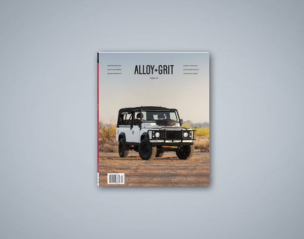 Alloy+Grit Series 2 Issue 3 - Summer 2018