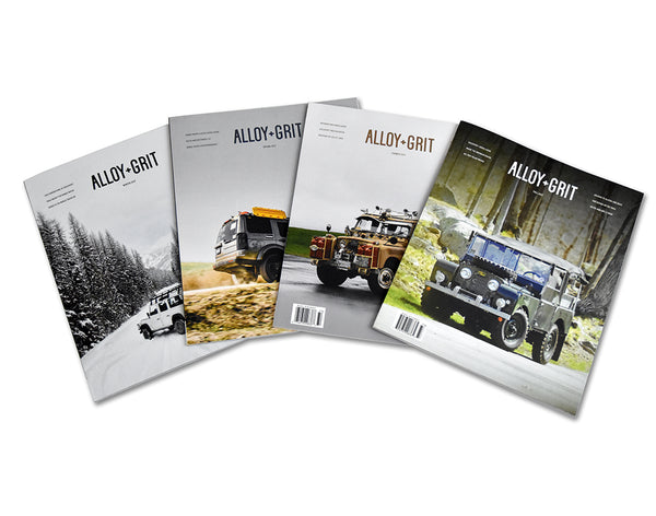 Alloy+Grit Series 1 Back Issue Pack