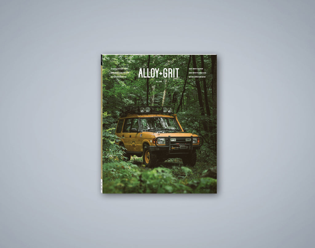 Alloy+Grit Series 2 Issue 4 - Fall 2018