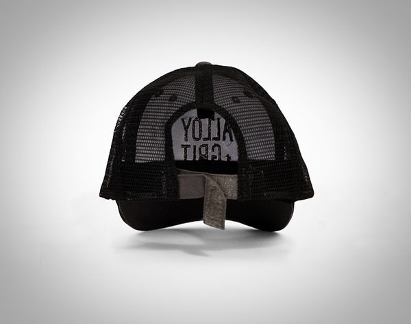 Trucker Cap, Black/Gray