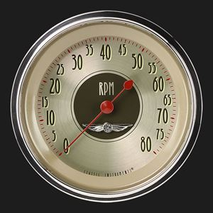 AN80SHC  Classic Instruments All American Nickel Tachometer 8000 RPM