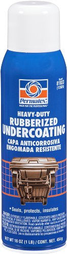 PER-81833-PERMATEX -135EA- RUBBERIZED UNDERCOAT