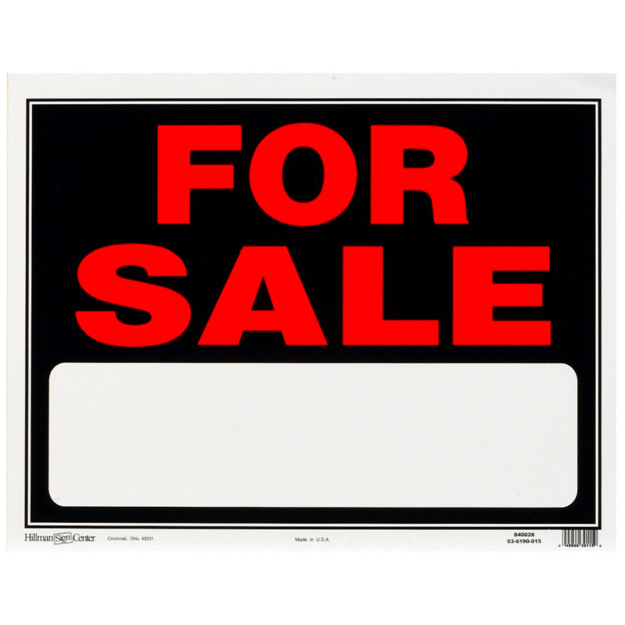 AXX-50015P-FOR SALE SIGN