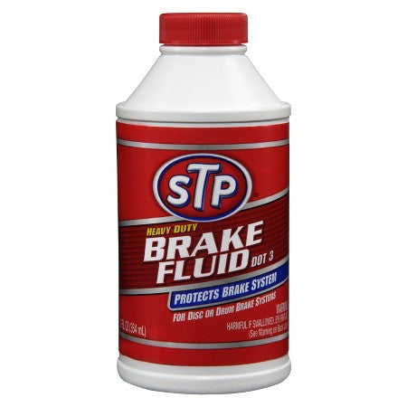 STP-00203- DOT 3 BRAKE FLUID 12 OZ