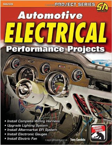 BK-SA209-AUTOMOTIVE ELECTRICAL PROJECTS GUIDE