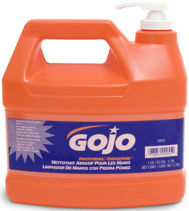 GOJ-0955-GOJ 1 GAL ORANGE WITH PUMICE