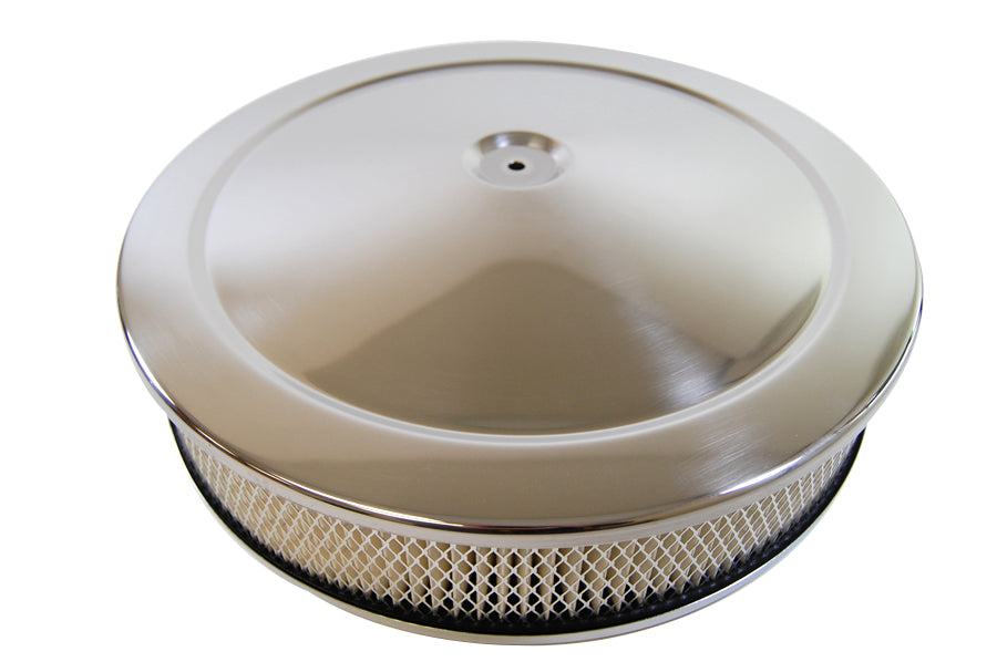 "RPC-R2195   CHROME ""MUSCLE CAR"" STYLE AIR CLEANER SET"
