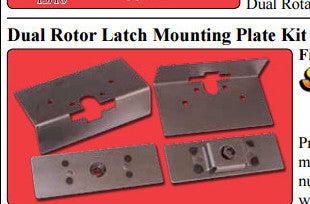 SRS-201-Dual Rotor Bear Claw Latch Mounting Plate Kit