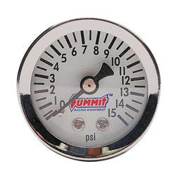 SUM-G3122 Summit Racing Fuel Pressure Gauges