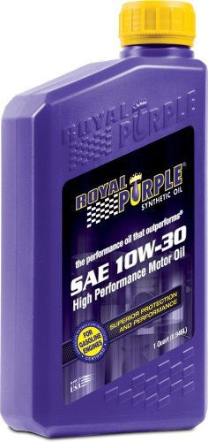 10W30-ROYAL PURPLE 10W30 1 QUARTS
