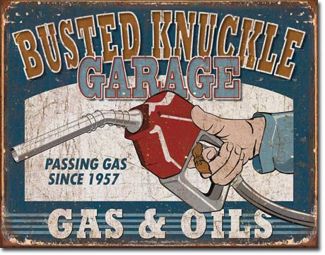 DE-1738-BUSTED KNUCKLE GAS & OILS