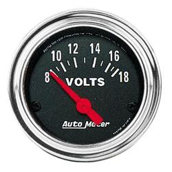 ATM-2592-AutoMeter Traditional Chrome Analog Gauges