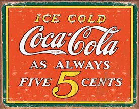 DE-1471-COKE - Always 5 Cents