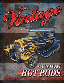 DE-1567-LEGENDS VINTAGE HOT ROD