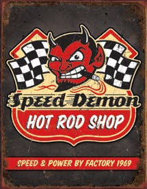 DE-1744-SPEED DEMON HOT RODS