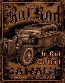 DE-1895-RAT ROD GARAGE