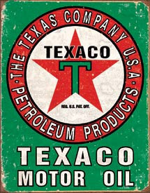 DE-1927-TEXACO OIL WEATHERED