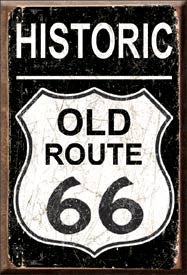 DE-1938-OLD ROUTE 66 WEATHERED