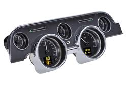 DAK-HDX-67F-MUS-K-Dakota Digital HDX Direct-Fit Analog Gauge Systems
