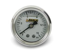 EAR-100189ERL-Earl's Performance Analog Fuel Pressure Gauge 15psi OIL