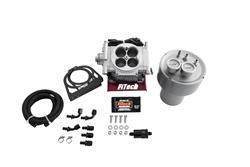 FIF-32001-FiTech Go EFI 4 600 HP Self-Tuning Fuel Injection Systems with Fuel Command Center