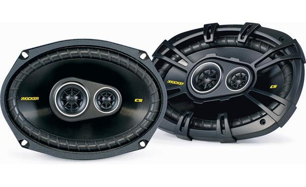 "IDL-KIK-40CS6934 6""x9"" 3-way car speakers"