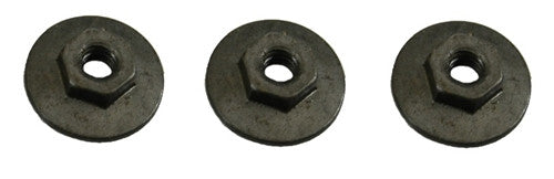 CHQ-H-185-1/4 WINDOW TRACK MOUNTING NUT SET (3)