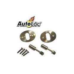 HFM-BCKNOB-AutoLoc Billet Interior Door Knob Sets