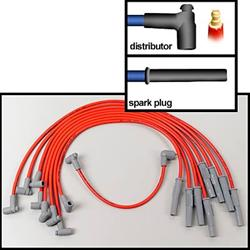 MSD-35399   MSD 8.5mm Super Conductor Spark Plug Wire Sets
