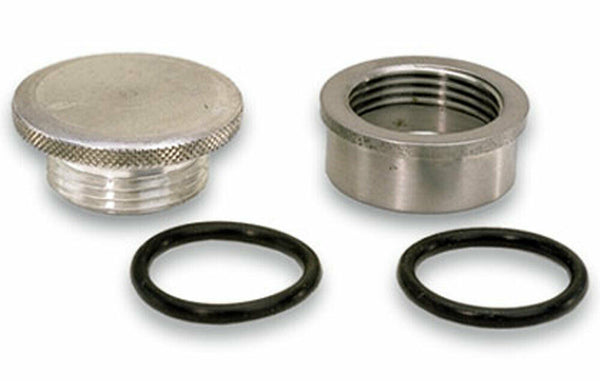 Moroso Cap and Steel Bung Kit P/N 85280