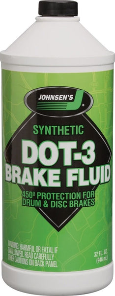 TCC-Johnsen Dot 3 Brake Fluid 1 QT