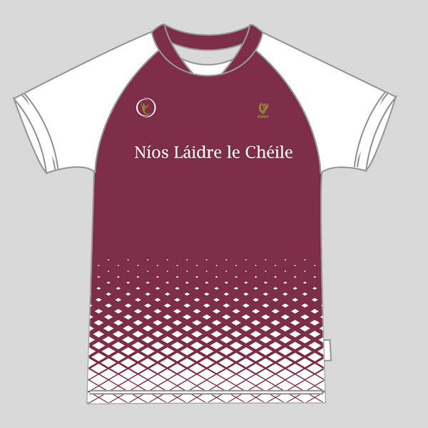 """Burgundy 21"" Training Jersey (Unisex Fit)"