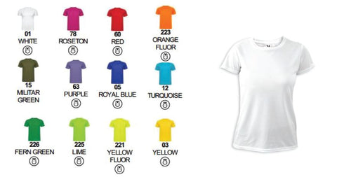 Customised Express Colour Tshirt (Ladies Fit)