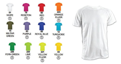 Customised Express Colour Tshirt (Unisex)