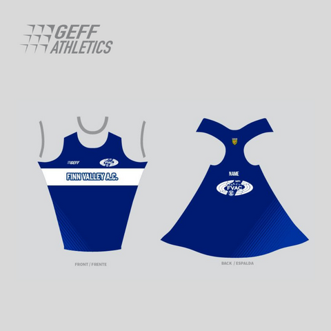 Finn Valley Athletics club vest