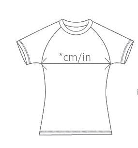 Customised Training TShirt (Ladies Fit)