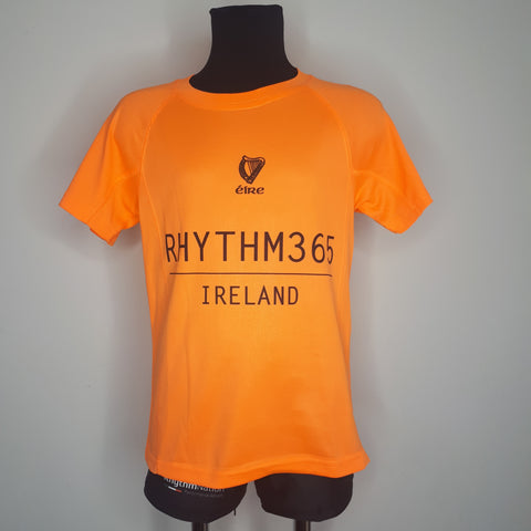 """Rhythm 365"" Performance t-shirt (orange)"