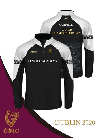 Irish Dancing Worlds 2020 Quarter Zip (Ladies Fit)