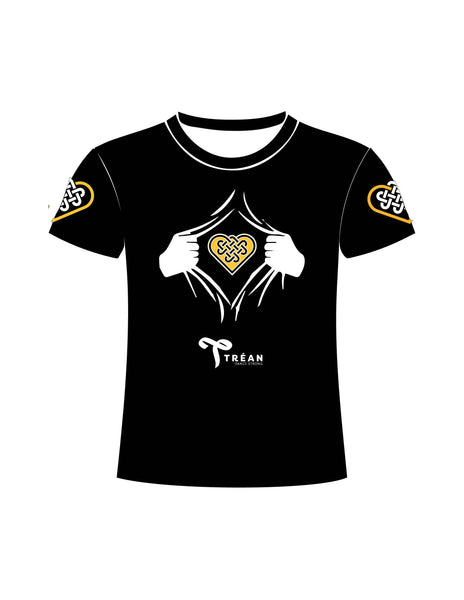TRÉAN Training Tshirt (Black)