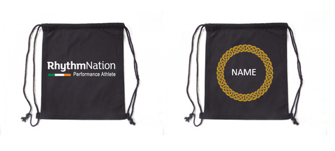 Rhythm Nation draw string bag