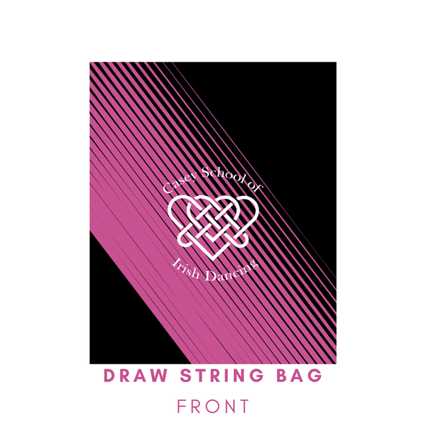 Casey School Draw String bag (for shoes or wig)