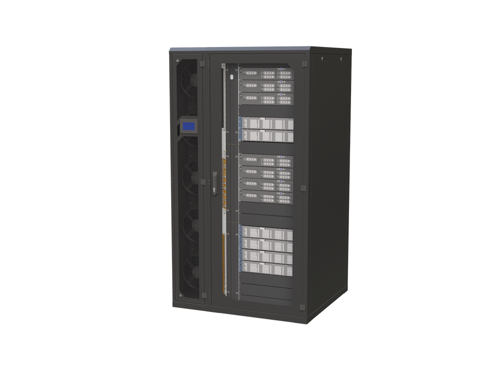 R2U BASIC SOLUTION Complete housing for IT = Rack + Air Conditioning + Monitoring + Power supply