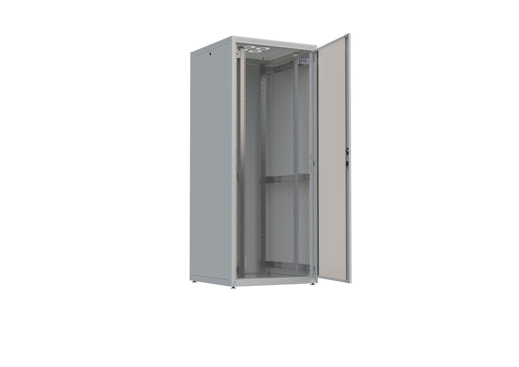 "19"" Free standing IT Rack 4X, 27 U, 600x800mm, Loading rate 300kg"