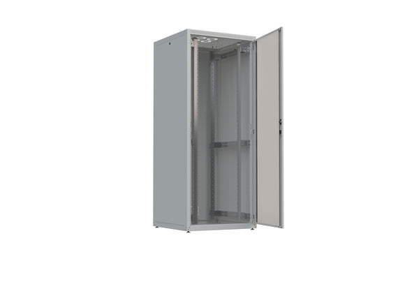 "19"" Free standing IT Rack 4X, 27 U, 600x600mm, Loading rate 300kg"
