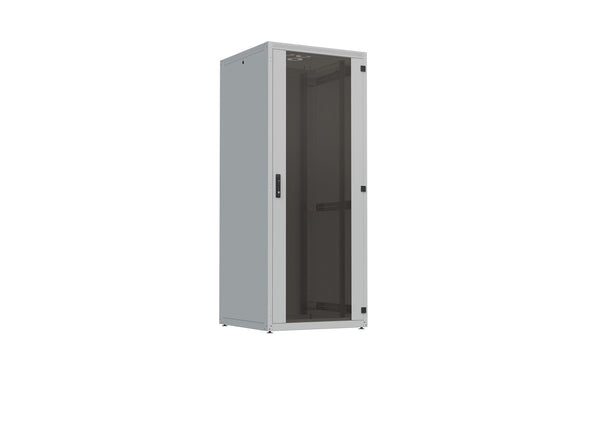 "19"" Free standing IT Rack 4X, 27 U, 800x800mm, Loading rate 300kg"