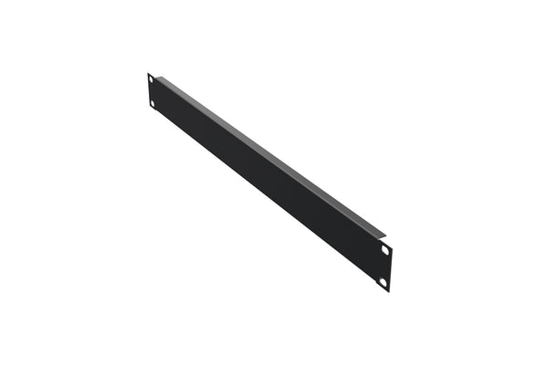 "4O-BP1U 19"" Blank panel 4x, 1U, colour black RAL 9005"
