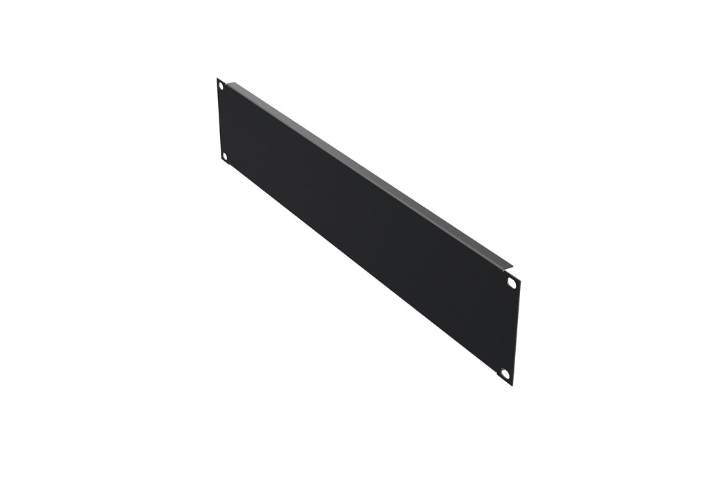 "4O-BP2U 19"" Blank panel 4x, 2U, colour black RAL 9005"